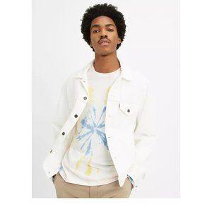 NEW Levi's Premium White Trucker Jacket